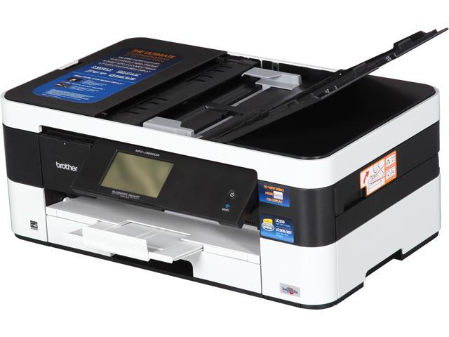 Brother Business Smart MFC-J4620DW Up to 35 ppm (Fast Mode) Up to 22 ppm (ISO/IEC 24734) Black Print Speed 6000 x 1200 dpi Color Print Quality Wireless (802.11 b/g/n) InkJet MFC / All-In-One Color Ink