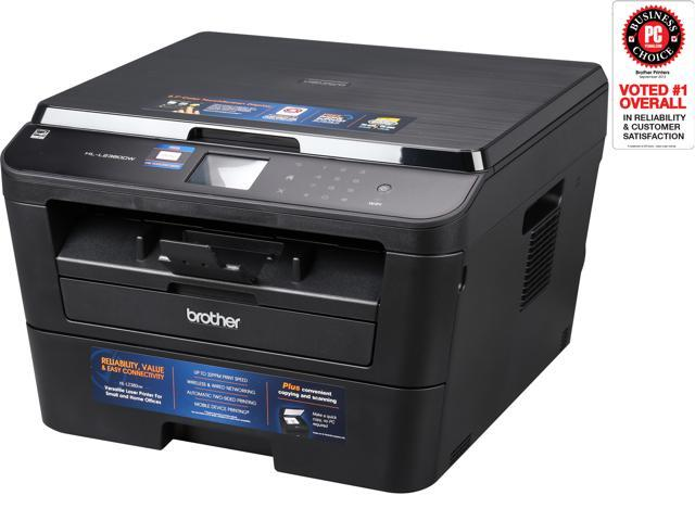 Brother HL-L2380DW Duplex 2400 x 600 DPI USB / Wireless / Ethernet Mono Laser Printer