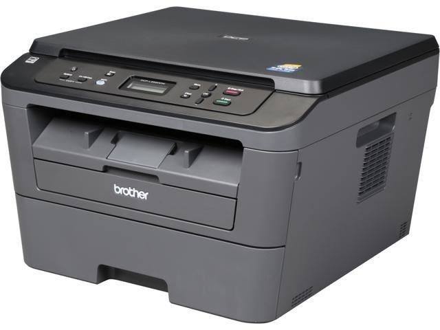 Brother DCP-L2520DW 2400 x 600 dpi Wireless/USB Monochrome Multifunction Laser Printer