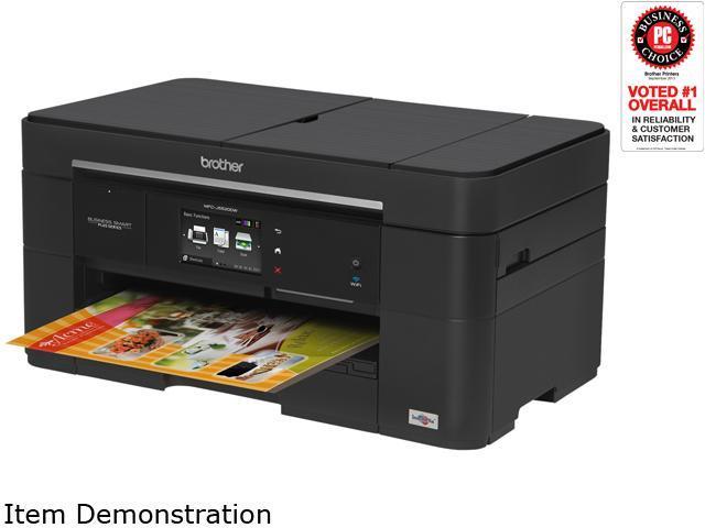 Brother MFC-J5520DW Business Smart Plus Duplex  6000 dpi x 1200 dpi wireless/USB/ethernet color Inkjet Printer