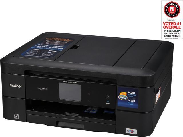 Brother MFC series MFC-J680DW Duplex 6000 dpi x 1200 dpi Wireless / USB Color InkJet MFP Printer
