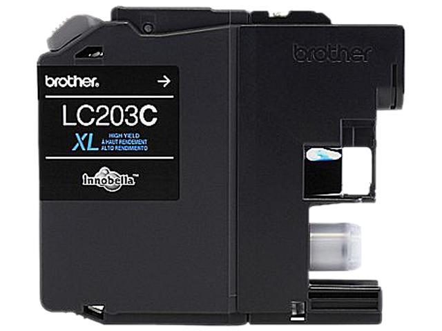 brother LC203CS-K Ink Cartridge 550 Page Yield; Cyan
