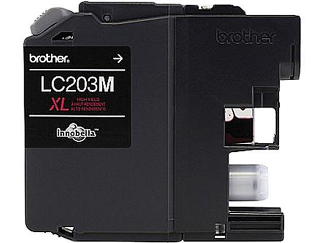 brother LC203MS-K Ink Cartridge 550 Page Yield; Magenta