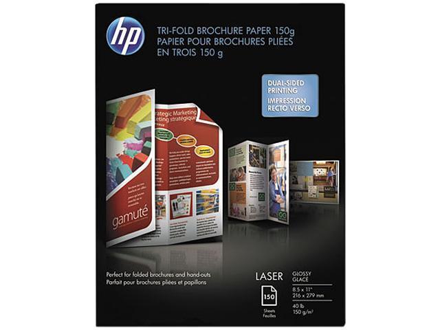 HP Q6612A Brochure/Flyer Paper For Laser Print - Letter - 8.50