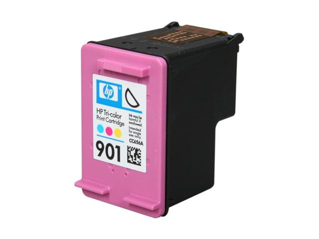 HP 901 Tri-color Officejet Ink Cartridge (CC656AN#140)