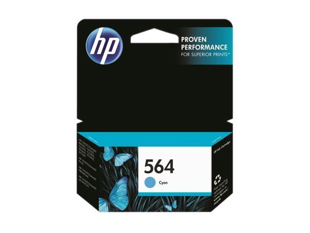 HP 564 (CB318WN#140) Ink Cartridge&#59; Cyan