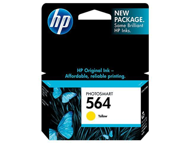 HP 564  Ink Cartridge 300 page yield (CB320WN#140) - Yellow
