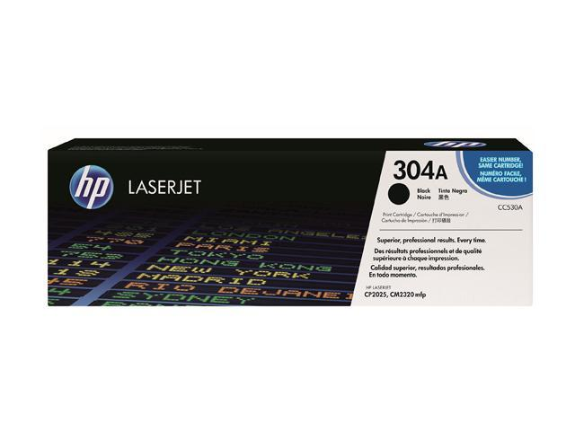HP CC530A Print Cartridge with ColorSphere Toner Black