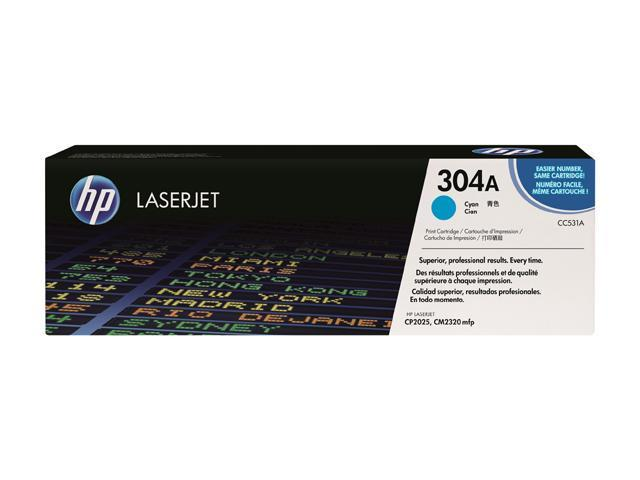 HP CC531A Print Cartridge with ColorSphere Toner Cyan