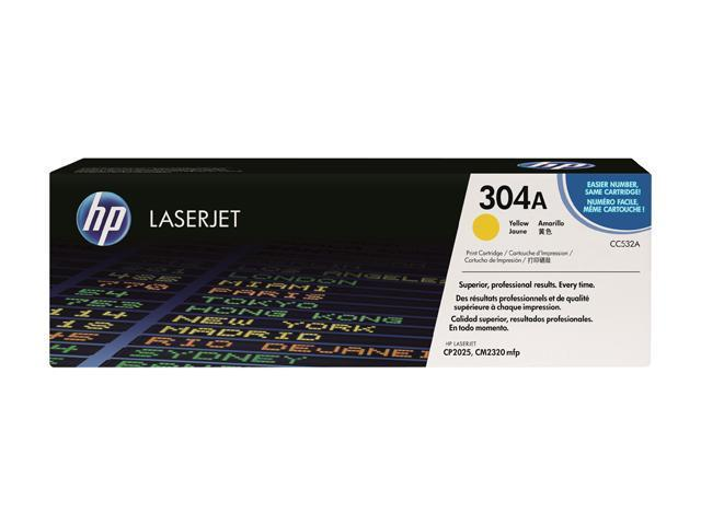 HP CC532A Print Cartridge with ColorSphere Toner Yellow