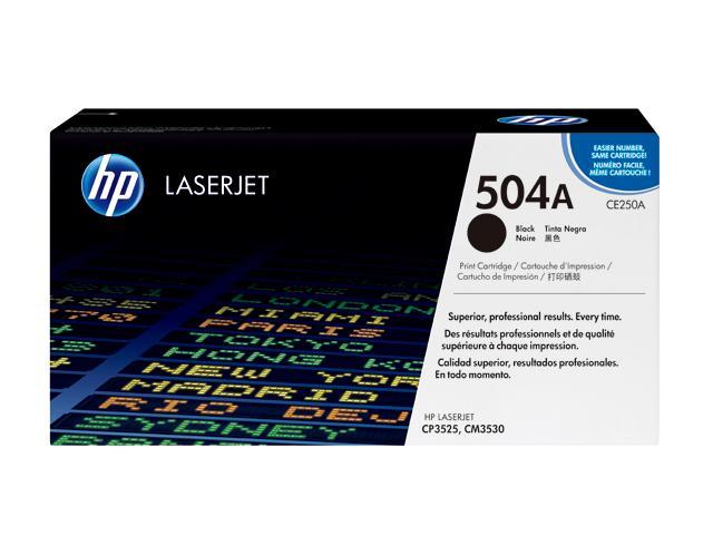 HP CE250A Color LaserJet Print Cartridge Black