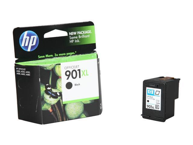 HP 901XL Black Officejet Ink Cartridge (CC654AN#140)
