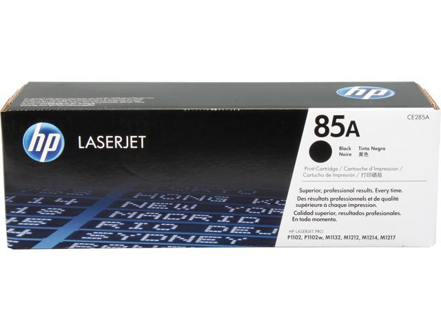 HP 85A Toner Cartridge 1,600 Pages Yield (CE285A); Black