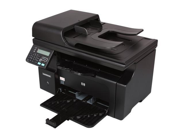 HP LaserJet Pro M1212nf MFP Up to 19 ppm 600 x 600 dpi Color Print Quality Monochrome Laser Printer