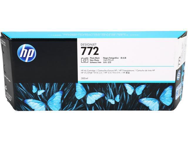 HP 772 Photo Black Designjet Ink Cartridge (CN633A)