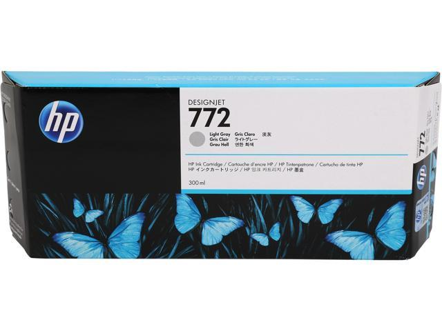 HP 772 Light Gray Designjet Ink Cartridge (CN634A)