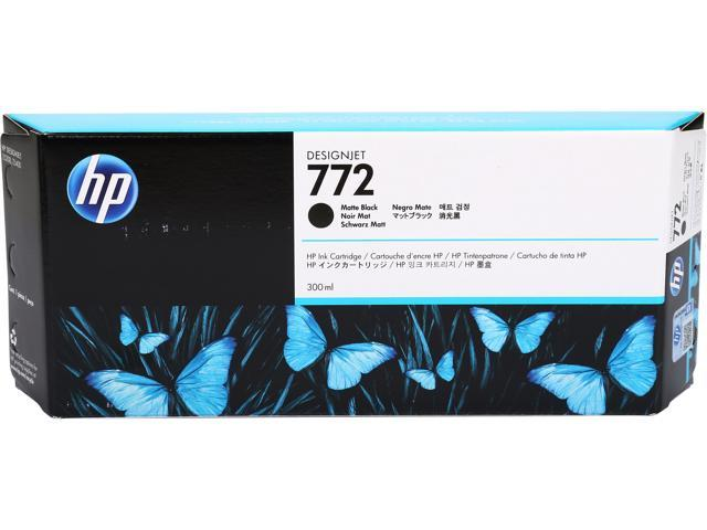HP 772 Matte Black Designjet Ink Cartridge (CN635A)