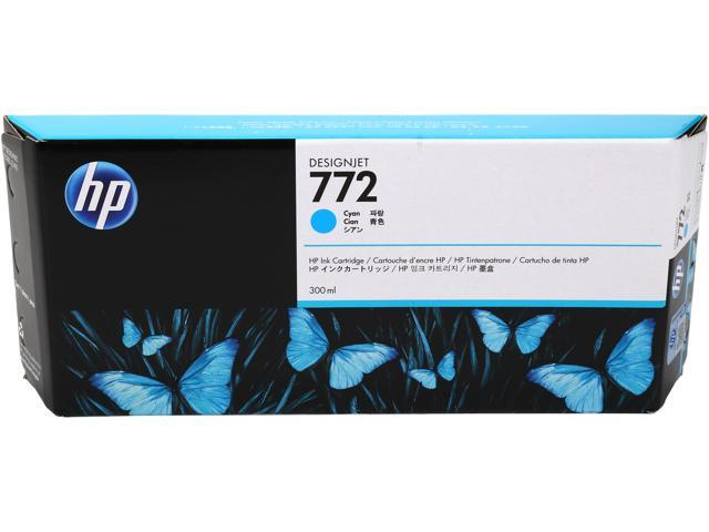 HP 772 Cyan Designjet Ink Cartridge (CN636A)