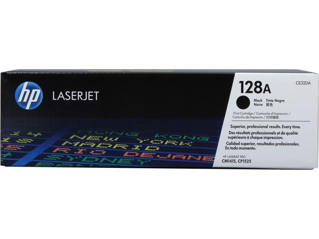HP 128A LaserJet Toner Cartridge - Black