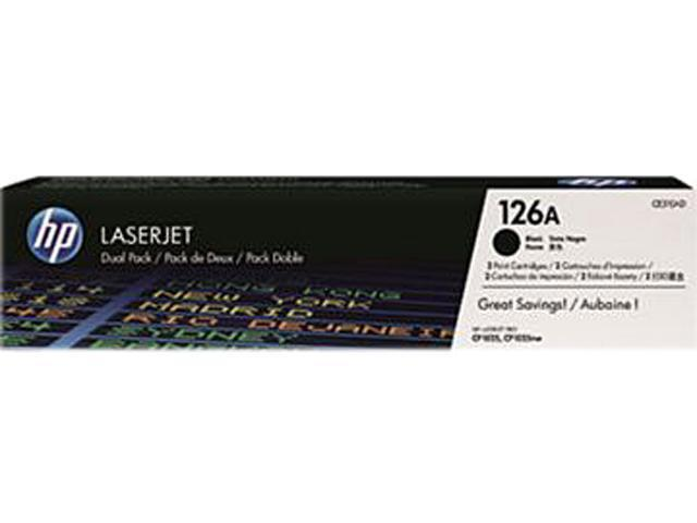 HP 126A Black LaserJet Print Cartridge (CE310A)