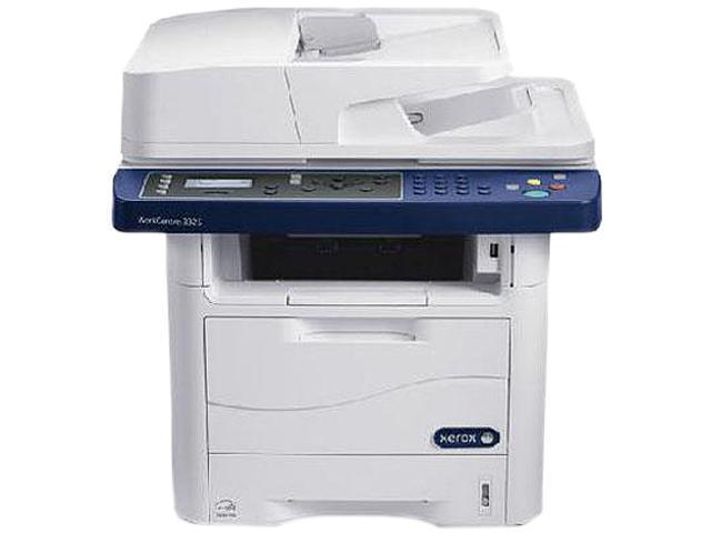 XEROX WorkCentre 3325/DNI MFC / All-In-One Up to 37 ppm Monochrome Wireless 802.11b/g/n Laser Printer