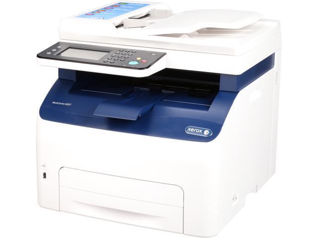 XEROX WorkCentre 6027/NI 1200 x 2400 dpi wireless/USB color Laser MFP Printer