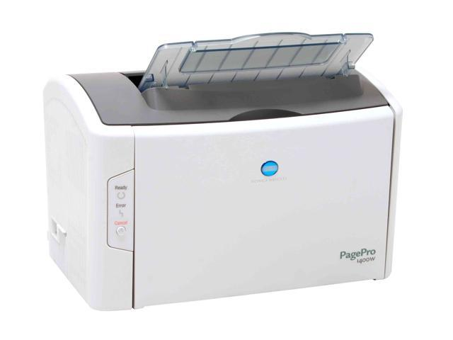 KONICA MINOLTA pagepro 1400W Personal Up to 17 ppm (letter); 16 ppm (A4) Monochrome Electrophotographic Laser Printer