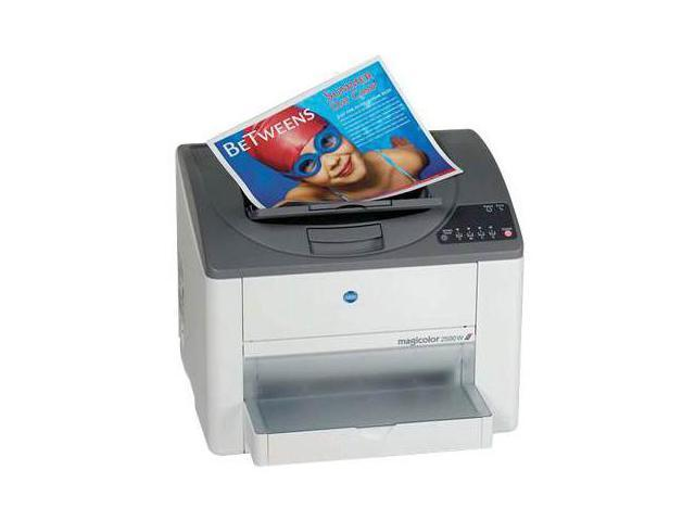 KONICA MINOLTA magicolor 2500W A00V011 Personal Up to 20 ppm 2400 x 600 dpi, 1200 x 600 dpi (default), 600 x 600 dpi Color Print Quality Color electrophotographic laser Printer