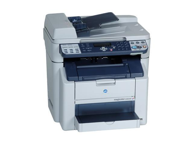 KONICA MINOLTA magicolor magicolor 2490MF MFC / All-In-One Up to 20 ppm 2400 x 600 dpi, 1200 x 600 dpi, 600 x 600 dpi Color Print Quality Color Electrophotographic Laser Printer