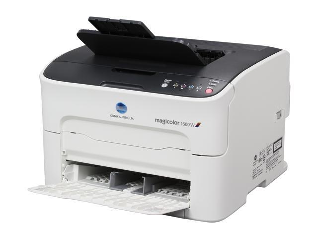 Konica Minolta magicolor 1600W Personal Up to 20 ppm 1200 x 600 dpi Color Print Quality Color Laser Printer