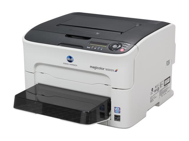 Konica Minolta magicolor 1650EN Workgroup Color Laser Printer