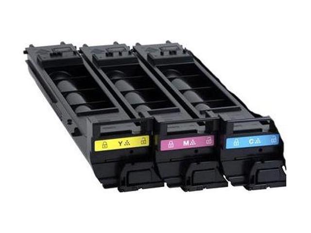 KONICA MINOLTA A0DKJ32 Toner Cartridge Cyan / Magenta / Yellow