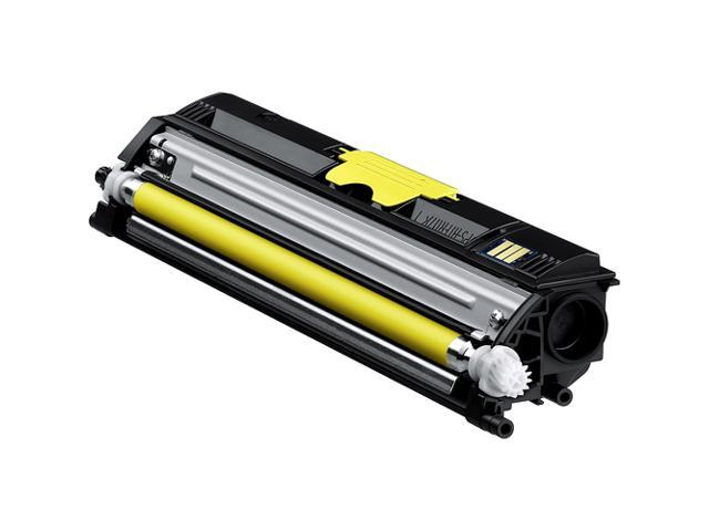 KONICA MINOLTA A0V305F 120V Standard Capacity Toner Cartridge Yellow