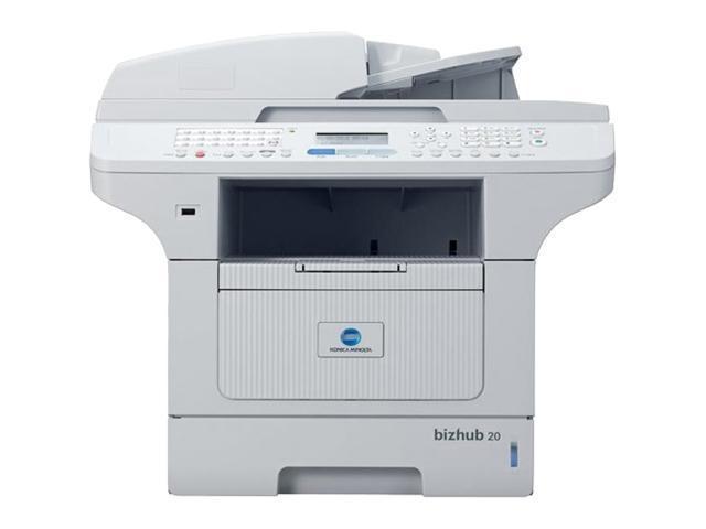 Konica Minolta bizhub Bizhub 20 Plain Paper Print Up to 32 ppm 2400 x 600 dpi Color Print Quality Monochrome Laser Printer