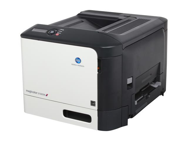 KONICA MINOLTA magicolor 3730DN Workgroup Up to 25 ppm 2400 x 600 dpi Color Print Quality Color Laser Printer
