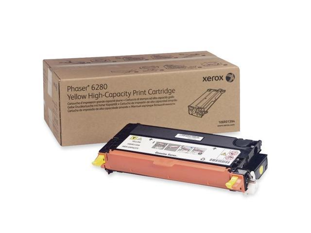 XEROX 106R01394 High Capacity Cartridge For Phaser 6280 Yellow