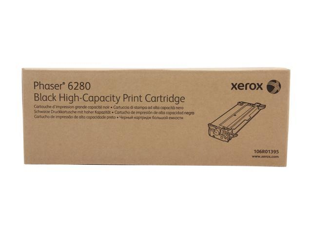 XEROX 106R01395 High Capacity Print Cartridge For Phaser 6280 Black