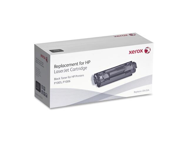 Xerox Replacements 6R1429 Black Remanufacture Toner Replaces HP CB435A