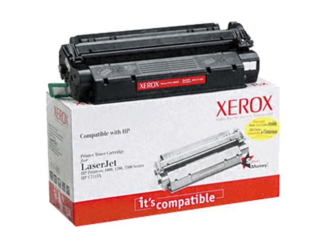 XEROX 006R00932 Black Replacement Toner Cartridge for HP LaserJet Printers
