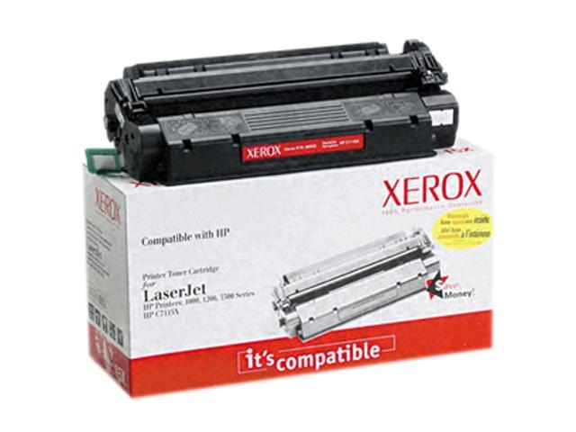XEROX 006R00961 Black Replacement Toner Cartridge for HP LaserJet 2400