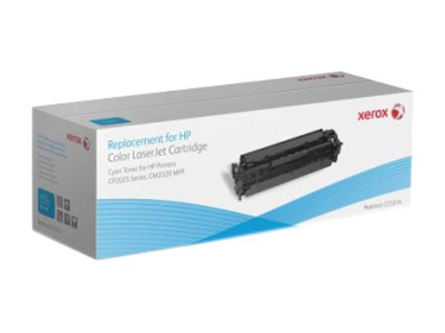 XEROX 006R01486 Cyan Replacement Toner Cartridge for HP LaserJet CP2025