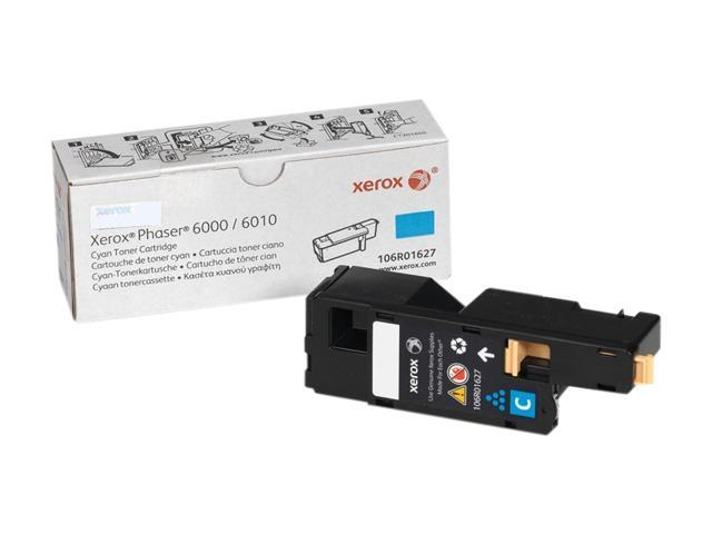 XEROX 106R01627 Toner For Phaser 6000/6010 and WorkCentre 6015 Cyan