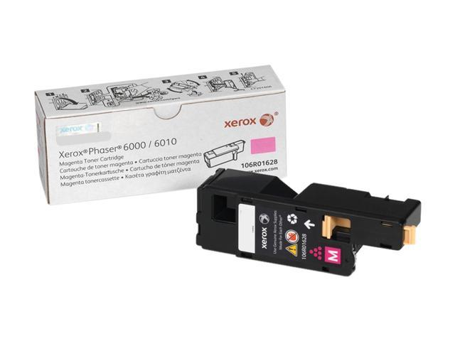 XEROX 106R01628 Toner For Phaser 6000/6010 and WorkCentre 6015 Magenta
