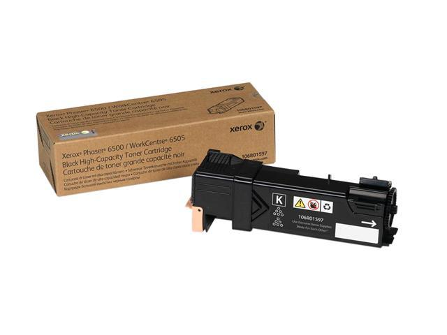 XEROX 106R01597 High Capacity Toner For Xerox Phaser 6500/6505 Black