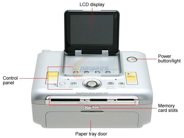 Kodak EasyShare 500 1783794 300 ppi, continuous tone Color Print Quality Wireless Thermal Photo Color Printer