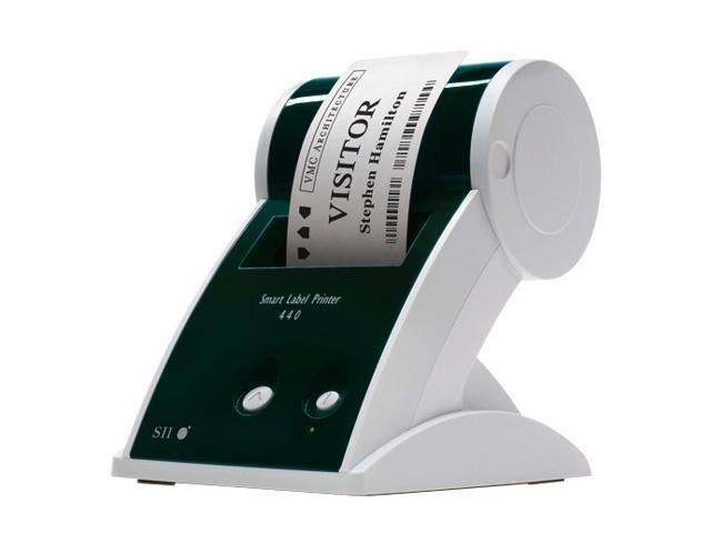 Seiko Smart Label SLP440-KIT Direct Thermal 2-3 seconds per label 300 dpi Label Printer with SLP-2RL Label, SLP-MRL Label