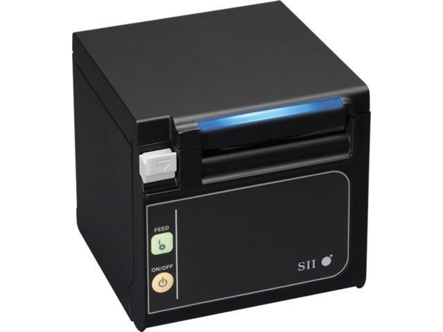 Seiko RP-E RP-E11-K3FJ1-U3C3 Direct Thermal/Thermal Transfer Printer 350 mm / sec 203 dpi Qaliber Smaller Faster More Flexible Black Power USB ...