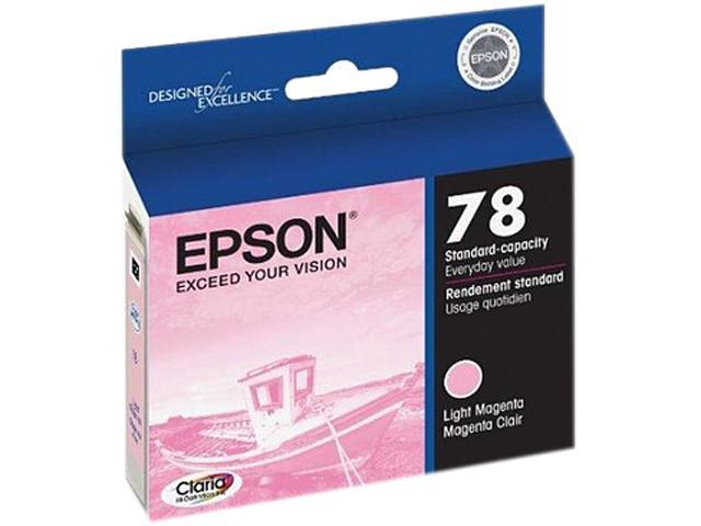 EPSON T048620-S-K1 Ink Cartridge 430 Page Yield; Light Magenta