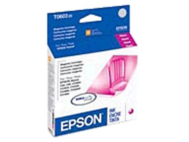 EPSON T060320-S-K1 Ink Cartridge 550 Page Yield; Magenta