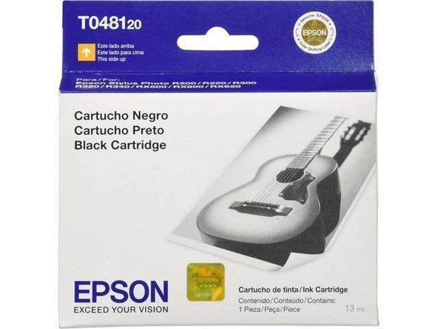EPSON T048120-S-K Ink Cartridge_Group Option Black